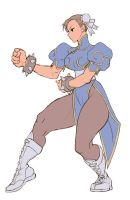Chun 3s WIP by steamboy33