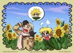 [APH] You look like a sunflower, part 1 by Margo-sama
