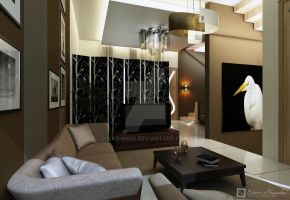 GDP living n guest room by vaD-Endz
