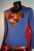 SuperGirl Costume all Assembled by ZigorC