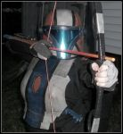Mandalorian Archer by bardic-fire