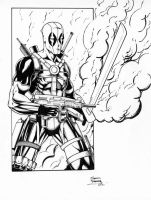 Deadpool by seanforney