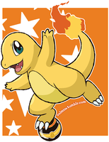 Pokemon Day: Shiny Charmander by Volmise