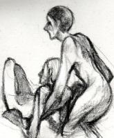 Charcoal sketch by Russalad