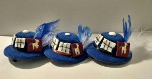 Itty Bitty Dr Whooves Hats by Smerkalot