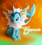 Vaporeon by ShadowReaper12
