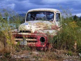 Left and Forgotten Truck by element321