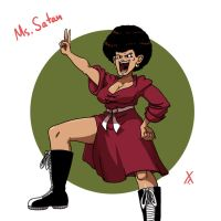 Ms. Satan!! by LovetheTrub