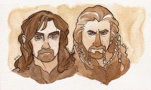 Fili and Kili. by tisserande
