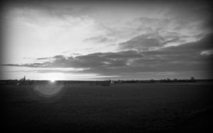 Landscape BW by Fabharty