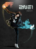 Minzy On Fire by powLaris28