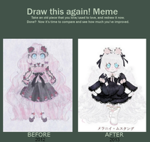 +Meme+ Before/After Melanie by Meruruu
