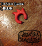 Fireshield Earring Charms by MattiasMay