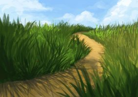 Grasscape by 3ihard