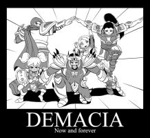 DEMACIA, Now and forever by Nestkeeper
