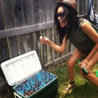 Ariel Meredith backyard party by lowerrider