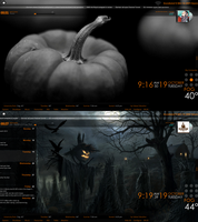 October Hallowficated Desktop by Animistro2002