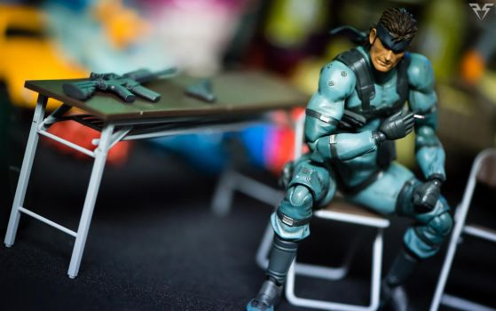 Figma MGS2 Snake by PlasticSparkPhotos
