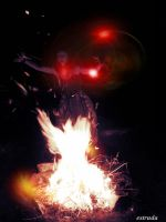 Dancing With The Fire Spirit by Estruda