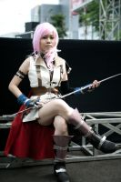 Cosplay Lightning FFXIII :2: by satsukiss
