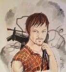Daryl Dixon by gensomaden-saihumis