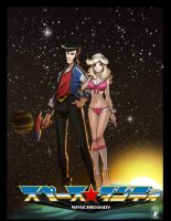 Space-dandy by slippyninja