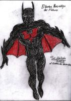 New Batman Beyond Sketch by fmvra1s