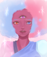 [FA] Cotton Candy Garnet by Bloodiee