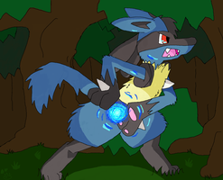 Lucario by claws202
