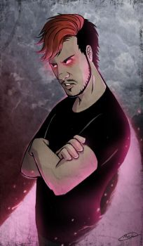 Dark Side - Darkiplier by maskman626