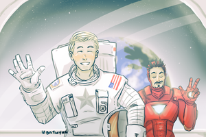 Hello From Space by Batwynn