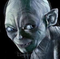 """Gollum"" by vampirekingdom"