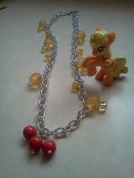 Applejack Inspired Necklace by CorterMoon