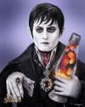 Barnabus and His Lava Lamp by GGartDeviant