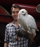 Neville and Hedwig - II by theperian