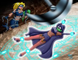 Empowered Saving Sistah Spooky by ARNie00