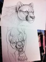 Ratha's Challenge - Art and WIP by synnabar