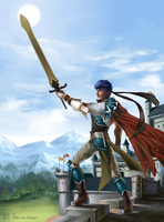Vanguard Ike at Crimea castle by VKliza