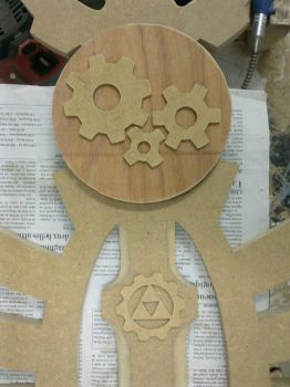 Master Sword (Steampunk ver) WIP (05/07) by LastMinuteReplicas