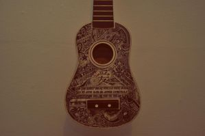 My ukulele designs by undercoversketch