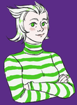 striped sweater by zombielike