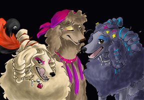 diamond dogs by shelzie