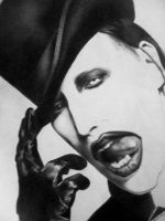 Marilyn Manson by leadedfewell
