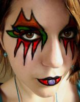 Rainbow makeup by innapnirhu