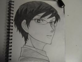 Another Kyoya by MaskedFantasy
