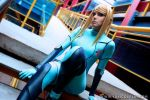 Metroid - Zero Suit Samus 4 by Yukilefay
