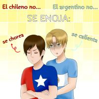 El chileno y el argentino no se enojan... by Marce-san