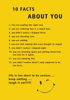 10 Facts About you by arulbeni