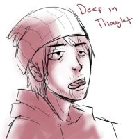 52 deep in thought by Lv-Simian
