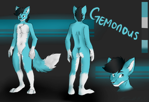 Gemonous Reference: Commission by Kittyhawkman